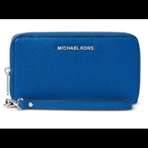 MICHAEL Michael Kors Handbags - Michael Kors Multi-Function Large Phone Wristlet